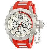 Invicta Signature II Russian Diver White Dial Chronograph Mens Watch 7424