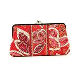 Vera Bradley Clutch Wallet Rosy Posies