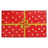 Calloway Mills 121031729 Christmas Package Doormat
