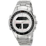 Sartego Men's SPW15 World Timer Quartz Chronograph Watch