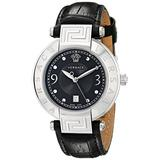 Versace Women's 68Q99D009 S009 Reve Black Dial Watch