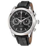 Carl F. Bucherer Men's 0010910083301 Manero Black Chronograph Dial and Strap Watch