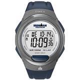 Timex T5K610 Mens Ironman 10-Lap Blue Indiglo Watch
