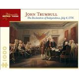 The Declaration of Independence, July 4, 1776: 1,000 Piece Puzzle (Pomegranate Artpiece Puzzle)
