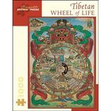 Tibetan Wheel of Life: 1,000 Piece Puzzle (Pomegranate Artpiece Puzzle)
