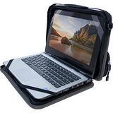 "OtterBox OtterShell Always-On Case with pocket for 11-12"" Chromebooks and Laptops - Bulk Single-pack (1 unit) - Grey/Black"