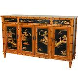"""Oriental Furniture 60"""" Ching Hall Cabinet"""