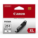 Canon Genuine CLI-251XL Grey Ink Tank