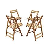 Merry Products Folding Dining Chairs - Set of 4