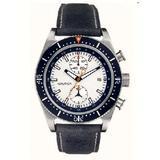 Nautica Men's White Dial Brown Leather Strap Chronograph Date Quartz Watch A14591G…