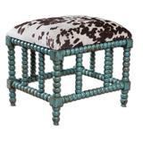 Uttermost 23605 Chahna Small Bench Aqua Blue