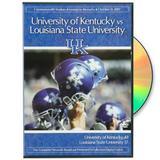 Kentucky Wildcats vs. LSU Tigers 2007 Game Complete Network Broadcast DVD