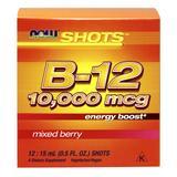 Now Foods Now Shots B-12 10,000 mcg Mixed Berry 12 Shots