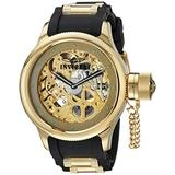 Invicta Men's 1243 Russian Diver Analog Display Mechanical Hand Wind Black Watch