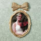 Bow Gold Large Photo Frame 8 x 10, 8 x 10, Gold