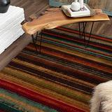 Mohawk Home New Wave Boho Stripe Area Rug, 5'x8', Multi