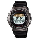 CASIO watch SPORTS GEAR sports gear runners model tough solar lap / split up 120 books time memory W-S200H-1AJF mens watch