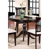 Hillsdale Furniture Bayberry Round Table - Dark Cherry Dark Cherry