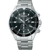 CITIZEN watch ALTERNA Alterna Eco-Drive eco-drive chronograph divers designs VO10-6771F mens watch