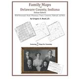 Family Maps of Delaware County, Indiana