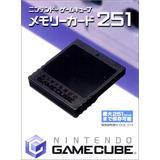 Nintendo Gamecube Memory Card 251 (Japan Import)