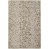 Safavieh Martha Stewart Collection MSR3621D Handmade Kalahari Wool & Viscose Area Rug, 4' x 6', Sharkey Gray