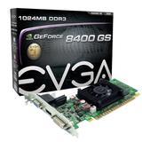 EVGA 01G-P3-1302-LR GeForce 8400 GS Graphic Card - 520 MHz Core - 1 GB DDR3 SDRAM - PCI Express 2.0 x16. GEFORCE 8400 GS PCIE 2.0 1024MB DDR3 DVI VGA HDMI V-CARD. 600 MHz Memory Clock - 2560 x 1600 - HDMI - DVI - VGA