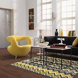 Mohawk Home New Wave Ziggidy Chevron Printed Area Rug, 5'x8', Yellow