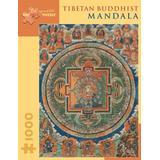 Tibetan Buddhist Mandala: 1,000 Piece Puzzle (Pomegranate Artpiece Puzzle)