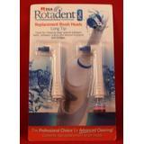 Pack of 2 Rotadent Plus Brush Heads - LONG TIP