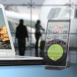 Clingo Universal Desktop Smartphone Mount Mobile Stand in Black, Size 0.4 H x 2.8 W x 2.8 D in | Wayfair 30330
