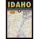 "National Geographic Maps Benchmark Idaho Road & Recreation Atlas, 3rd Edition, Size 16""H X 11""W X 1""D | Wayfair BE0BENIDAT"