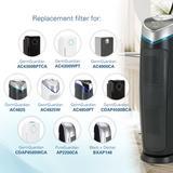 GermGuardian Germ Guardian Air Purifier HEPA filter in Gray, Size 15.77 H x 4.76 W x 1.29 D in | Wayfair FLT4825