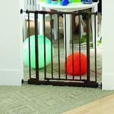 "Toddleroo by Northstates Easy Close Safety Gate, Metal in Bronze, Size 29""H X 28""-38""W X 2""D 