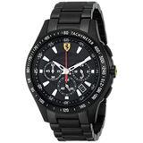Ferrari Men's 0830046 Scuderia Analog Display Quartz Black Watch