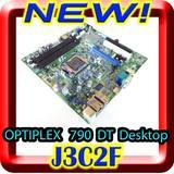 Genuine Dell OEM Dell Optiplex 790 Motherboard Mainboard Systemboard for Desktop DT Model Chassis, Dell Part Number J3C2F 0J3C2F, Intel LGA1155