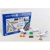 Daron United Airlines Airport Playset