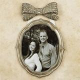 Bow Silver Large Photo Frame 8 x 10, 8 x 10, Silver