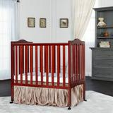 Dream On Me Lightweight 2-in-1 Convertible Crib Wood in Brown/Yellow, Size 38.0 H x 26.0 W x 40.0 D in | Wayfair 681