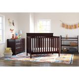 Graco Lauren 4-in-1 Convertible Crib Wood in Brown, Size 43.5 H x 30.1 W x 57.0 D in | Wayfair 04530-369