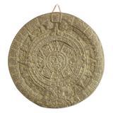 Ceramic plaque, 'Aztec Calendar in Grey'