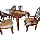 """Large Size Set of 4 Camel Soft Micro Suede Fully Quilted Dining Chair Cushion Pads 18x18"""""""