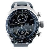Oris Men's 673 7587 7084RS TT3 Chronograph Limited Edition Black Dial Watch