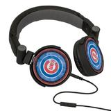 MLB Chicago Cubs Washed Logo Headphones