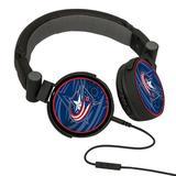 NHL Columbus Blue Jackets Oversized Logo Headphones
