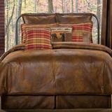 Gatlinburg Rustic Comforter Set Chocolate, King, Chocolate