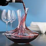 Wine Enthusiast Allure Aerating 47.25 oz. Wine Decanter Crystal, Size 9.25 H in | Wayfair 761 72
