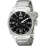 Oris Men's 74976324194MB Analog Display Automatic Self Wind Silver Watch