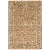 Surya Hillcrest HIL-9009 Classic Hand Knotted 100% New Zealand Wool Slate Gray 2' x 3' Modern Vintage Accent Rug