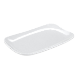 """GET CS-6105-W Melamine Serving Platter, 13"""" x 7 4/5"""", White"""